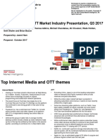 Internet Media & OTT PPT by Kagan 2017-11-2