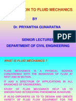 Introduction to Fluid Mechanics - 2005