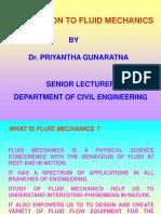 Introduction to Fluid Mechanics - 2005