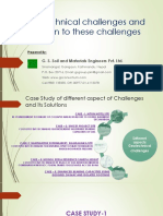 Challenges in Geotechnical Field