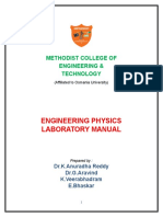 Engineering Physics Lab Manual