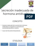 Secrecion Inadecuada de La Hormona Antidiuretica