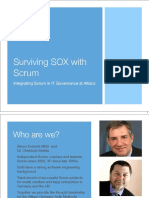 Surviving SOX With Scrum