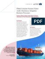 Capgemini LBS helps Dubai Customs ensure Faster Audit Clearance