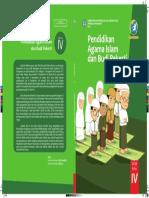 Kelas IV PAdB Islam BS Cover