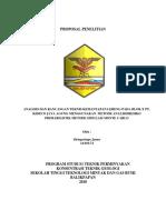 Analisis Dan Rancangan Teknis Kemantapan (Autosaved)
