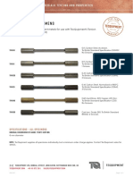 TR Torsion Specimens Datasheet 0517