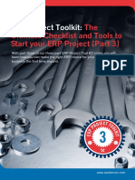 ERP Project Toolkit - The Ultimate Checklist and Tools to Start Your ERP Project - Part 3