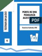 Perfil de una  Pedagogía Agustiniana