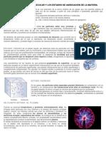 La Teoría Cinético Molecular 2018