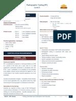 RT 2 Certification Scheme Detail