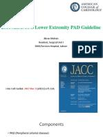PAD Guideline AHA-ACC 2016