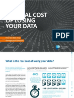 The Real Cost of Losing Your Data