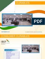 Consumer Durables September 2016