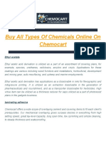 Buy Chemicals on Chemocart