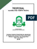 Proposal Bantuan 10 Juta Dari Gubernur 2016