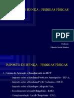 IR Pessoa Física e Planejamento em Compra e Venda de Empresas ppt