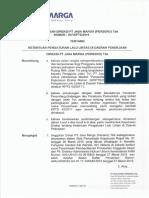 SK 207 KPTS 2016 Pengaturan Lalin di Daerah Jasa Marga.pdf