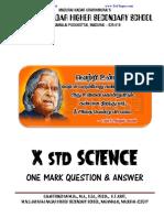 450 10 Science 1 Mark Qa Em