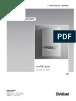365 299 Manual de Utilizare Ecotec Plus VUI 306