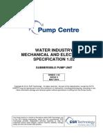 Appendix F1 - Wimes 1.02 Submersible Pump Unit