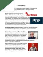 aardman report