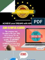 Aims - Basic Foundation Course - Presentation