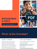 Step by Step Process to Sponsor a Child
