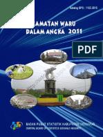 Kecamatan Waru Dalam Angka 2011