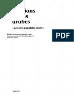 Le Conte Arabes