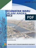 Kecamatan Waru Dalam Angka 2012