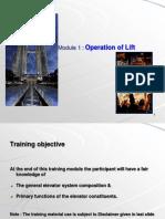 M1 - Elevator Basics & Operation