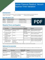 Nordson EFD Ultimus I III Validation Instructions