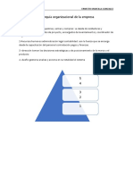 Jerarquía Organizacional de La Empresa