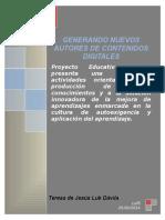 Proyecto Educativo Primer Bimestre 2014