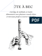 Flûte à Bec- Florilège