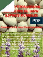 Manejo Fitosanitario Del Cultivo de Tarvvi Lupinus Mutabilis - RIVEZA