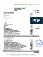 Informe Financiero ANPA, Abril 2018