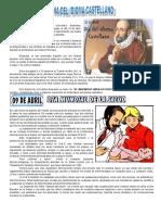 23 de ABRIL (1) - Día Del Idioma.