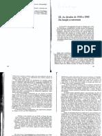 KUPER, A. as Décadas de 1930 e 1940. Da Função à Estrutura