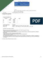 F1410 - Composición Química