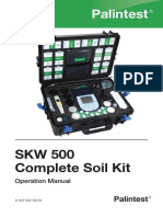 SKW 500 Complete Soil Kit Instructions