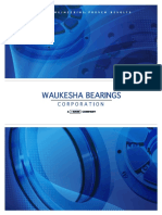 Waukesha Bearings Corporation Brochure