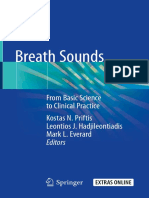 Breath Sounds - From Basic Science to Clinical Practice 2018
