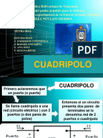 Cuadripolo(power point)
