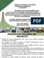 Tesis Exposicion Tonato Pumarica