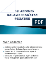 Nyeri Abdomen dalam Kegawatan Pediatrik. irh.pptx