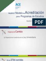 Sineace Ponencia Modelo de Acreditacion Nacional