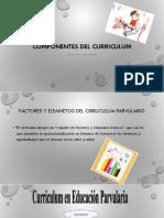 1.- Componentes Del Curriculum 11