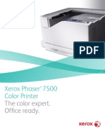 Phaser 7500 Broc